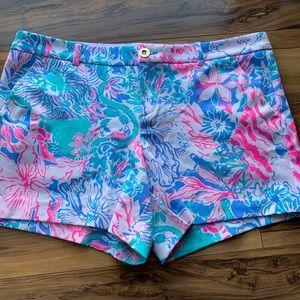 Lilly Pulitzer knit shorts 16